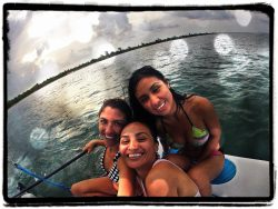 Dive and Adventure Mahahual Sailing with friends