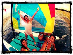 Dive and Adventure Mahahual tour de vela con amigas